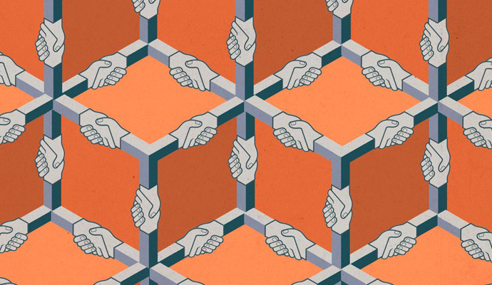 На фото: Управление складской деятельностью с помощью технологии blockchain, автор: k2.07.1g@gmail.com