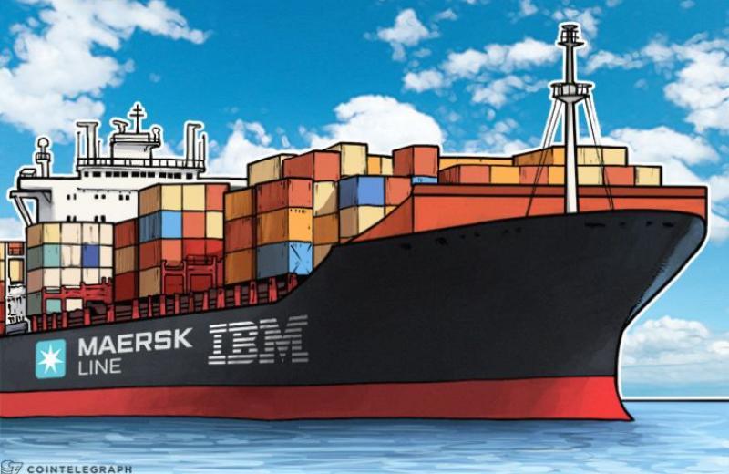 Maersk в партнерстве с IBM запускают блокчейн платформу для глобальной логистики