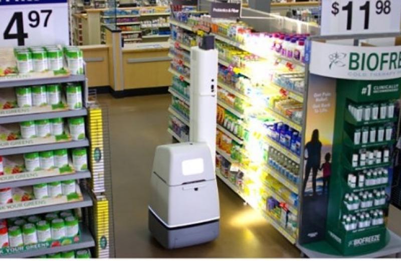 Walmart запустил роботов-мерчандайзеров