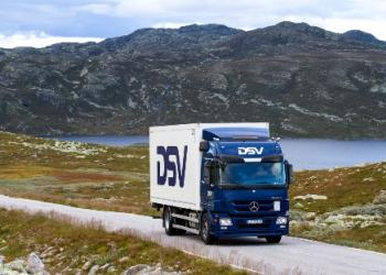 Внутриевропейские перевозки DSV. Северная Европа