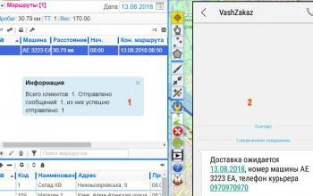 SMS для клиента - полезный функционал «Муравьиной логистики»
