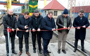 «Укрзализныця», ТИС и Maersk запустили регулярный контейнерный поезд