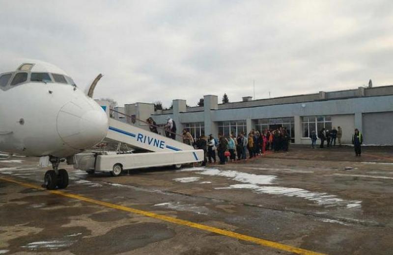 Аеропорт Рівного вирішили передати у концесію