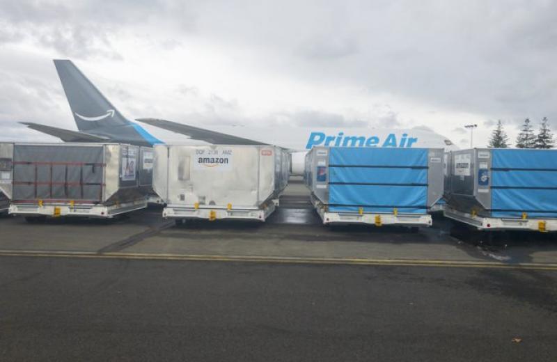 Amazon Air розвивається рекордними темпами