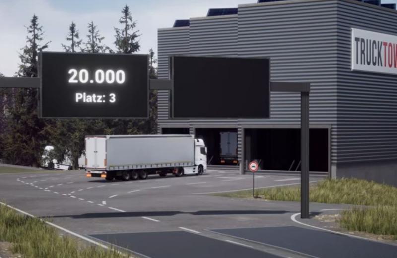 У Німеччині розробили систему автоматичного багаторівневого паркування для фур
