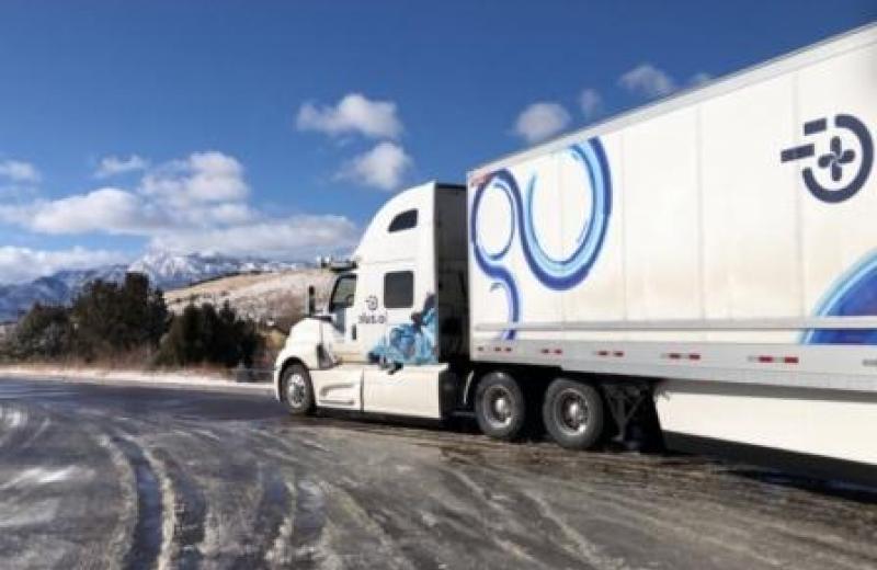 Автономна вантажівка Plus.ai здійснила перший комерційний рейс