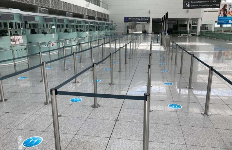 У Німеччині розробляють концепцію роботи аеропортів в умовах пандемії