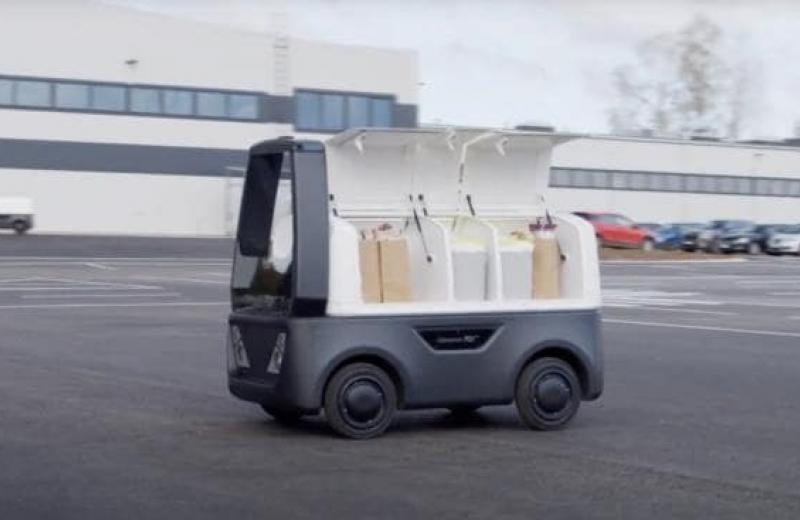 Компанія Cleveron продемонструвала можливості автономного робота для останньої милі