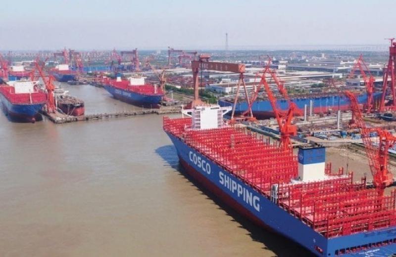 США накладають санкції на найбільшого у світі суднобудівника