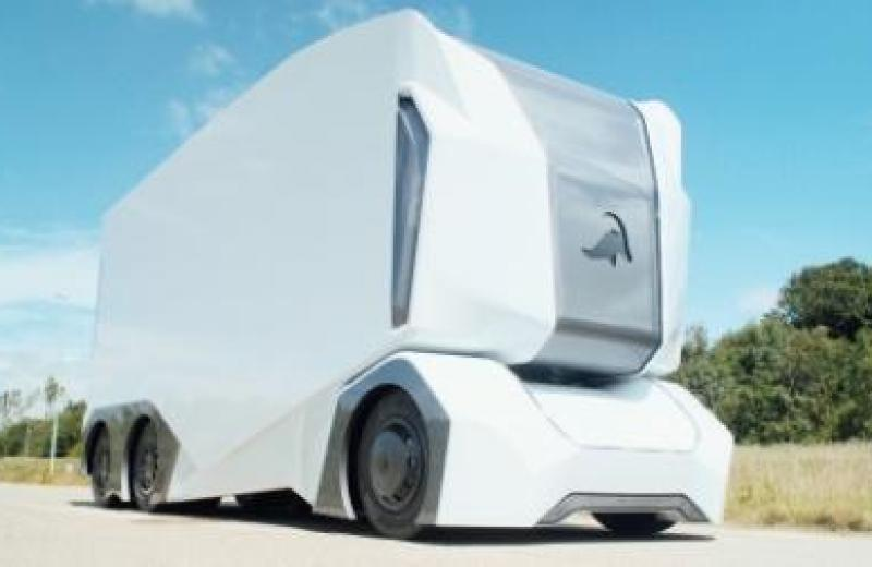 DB Schenker тестирует перевозки на беспилотных электрогрузовиках