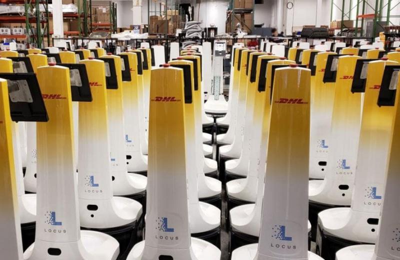 У ланцюгах постачання DHL з'явиться 2000 промислових роботів