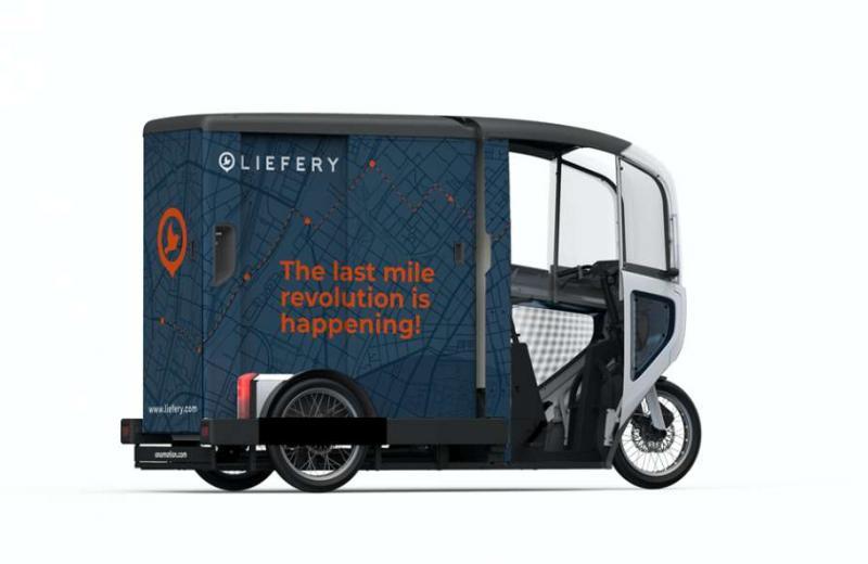 Німецька компанія використає електричні велорикші для логістики останньої милі