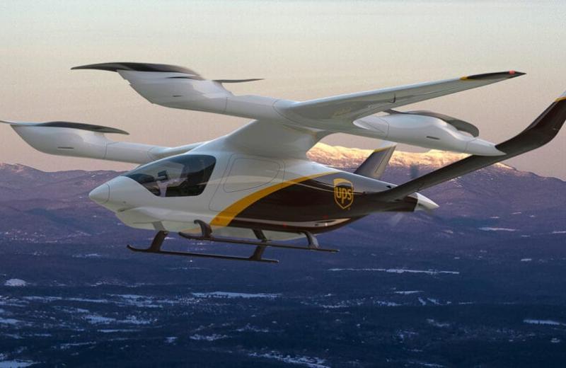 Американська компанія UPS починає створювати власний флот електричних літаків