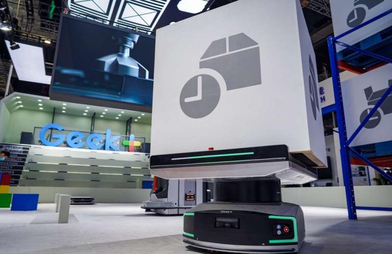 Роботи Geek+ забезпечать сортування контейнерів