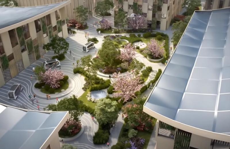 Toyota хоче побудувати «місто майбутнього»