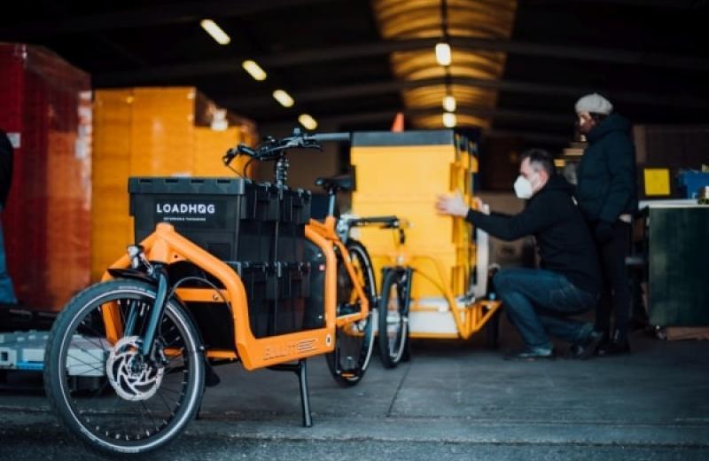 Компанії Carla Cargo і Loadhog вдосконалили вантажний велосипедний причіп