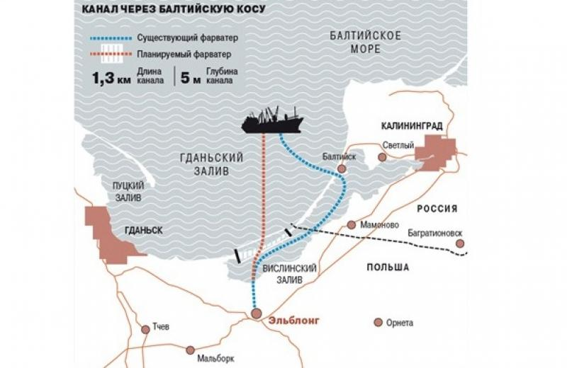 Поляки построят судоходный канал в обход российской территории