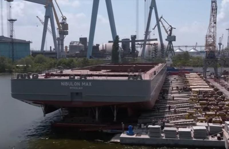 «Нібулон» побудував найбільше судно в історії сучасної України