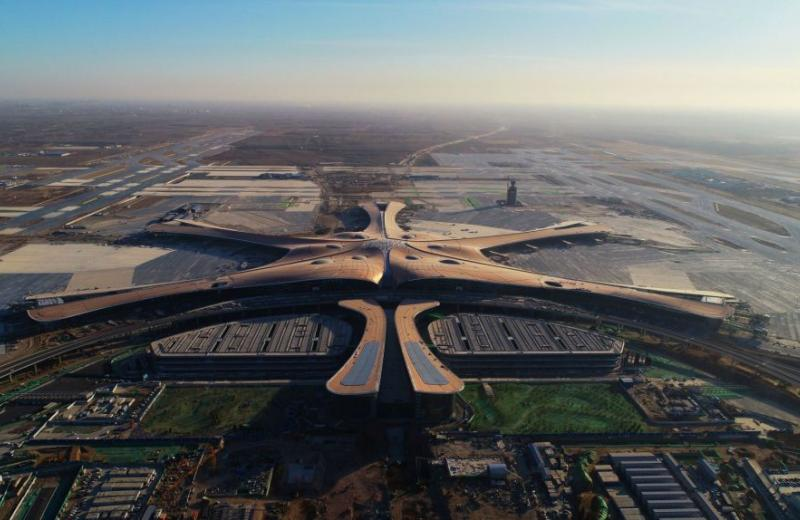 Китайцы откроют крупнейший в мире аэропорт