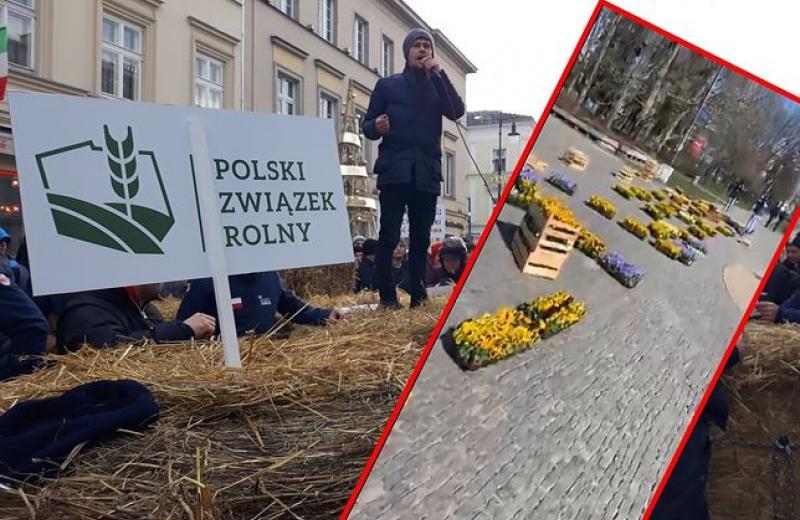 У Варшаві фермери протестували проти закриття ринків