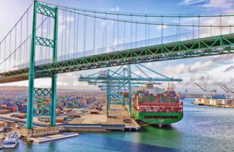 Порт Лос-Анджелеса потерпає від торговельної війни з Китаєм