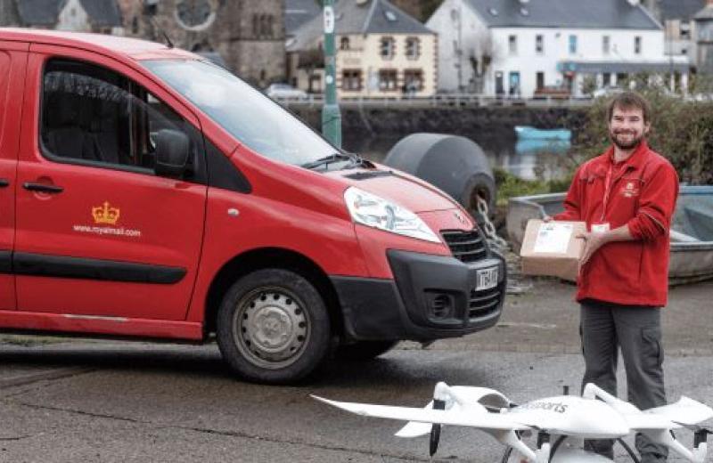 Royal Mail починає використовувати безпілотні літальні апарати