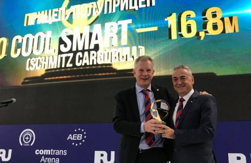 Ізотермічний напівпричіп S.KO COOL від Schmitz Cargobull став «Кращим напівпричепом 2019 року в Росії»