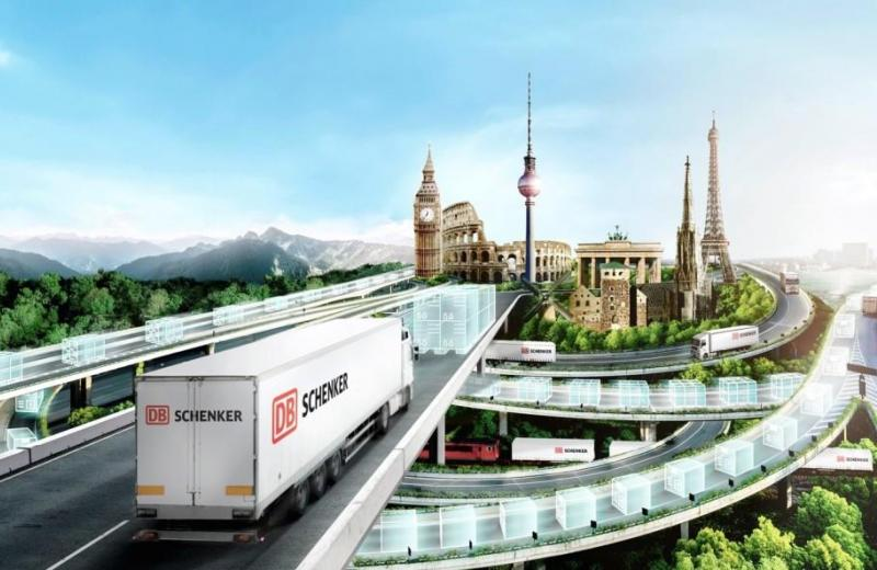 DB Schenker - швидка доставка збірних вантажів