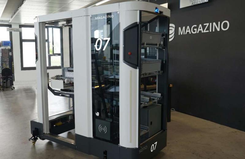 Компанії Wiferion та Magazino презентували мобільного робота для виробничої логістики