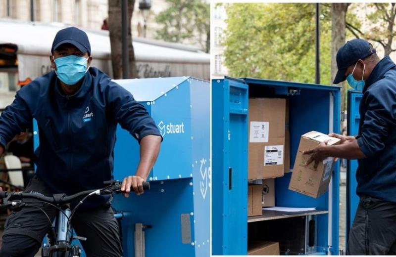 У Парижі випробовують мобільні склади для міської логістики