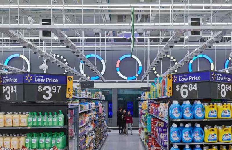 Walmart запатентував лазерну технологію інвентаризації у магазинах