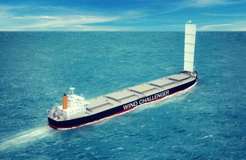 Хорошо забытое старое: компания MOL собирается устанавливать паруса на свои судна