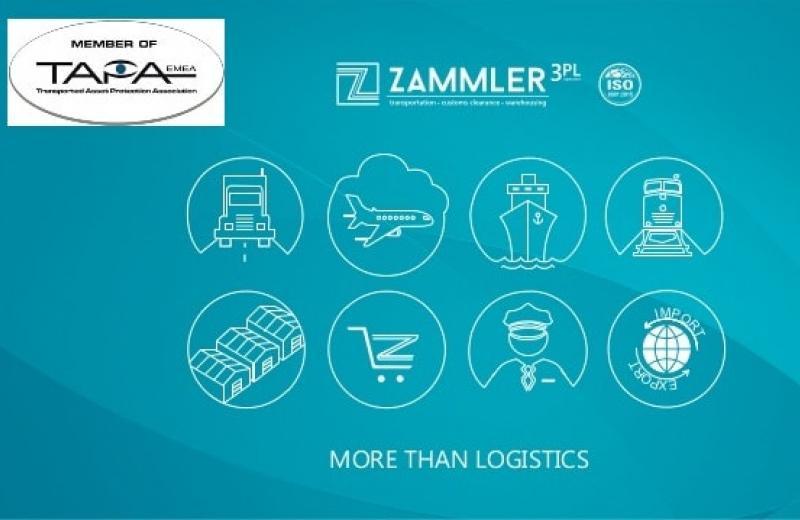 Компанія групи ZAMMLER отримала сертифікат TAPA (стандарт безпеки вантажоперевезень)