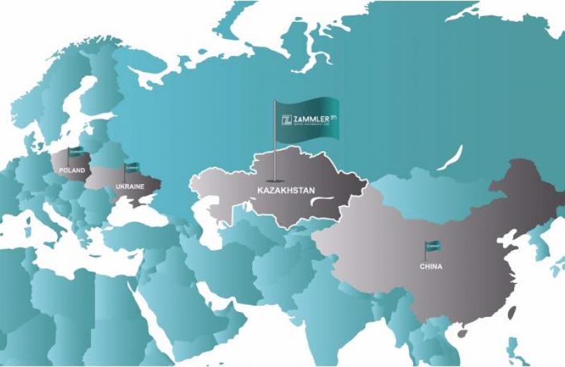 ZAMMLER GROUP відкрила представництво в Казахстані
