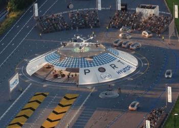 У британському Ковентрі будують перший у світі «аеропорт» для дронів та аеротаксі