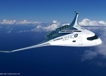 Airbus показав, яке майбутнє у цивільної авіації