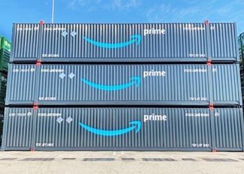 Amazon выходит на рынок контейнерних перевозок