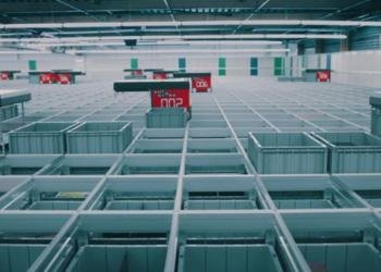 Новый роботизированный центр Rhenus в Нидерландах
