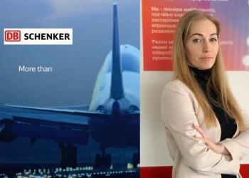 Екатерина Зотова: DB Schenker в Украине может доставить любой авиагруз
