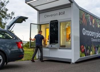 В Естонії використовують автомати, щоб видавати товари покупцям