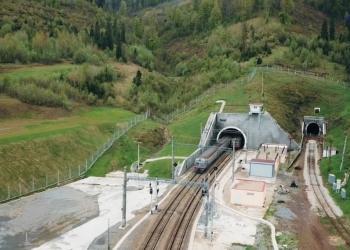 Новый Бескидский тоннель отметил первую годовщину