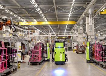 Компанія DB Schenker використовує безпілотні навантажувачі на складах
