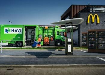 У Нідерландах вантажівки McDonald почали заправляти біопаливом з відпрацьованої олії