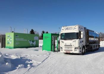 Компанія Valio використовує біогаз з власної молочної ферми для заправки авто