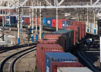 З Китаю до Білорусі прибув перший повністю оцифрований контейнерний потяг