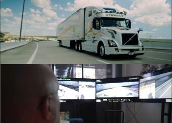 Стартап Starsky Robotics пересаживает дальнобойщиков из кабины грузовика в офис