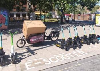 доставка на вантажних велосипедах виявилася на 60% швидшою, ніж малими автофургонами