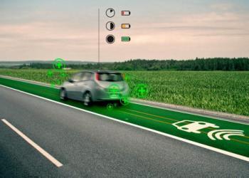 Технология индуктивной зарядки электромобилей в движении