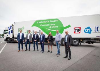 Компанія Schmitz Cargobull презентувала повністю автономний напівпричеп-рефрежиратор