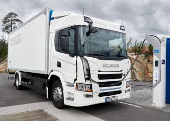 Scania почне продавати електричні вантажівки у листопаді